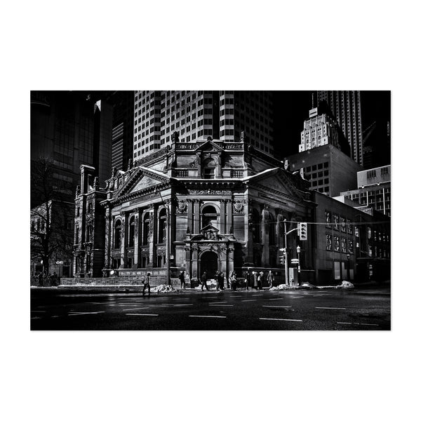 Toronto Hockey Hall of Fame Art Print
