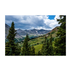 Colorado Rocky Mountains Nature Art Print