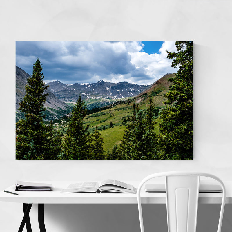 Colorado Rocky Mountains Nature Metal Art Print