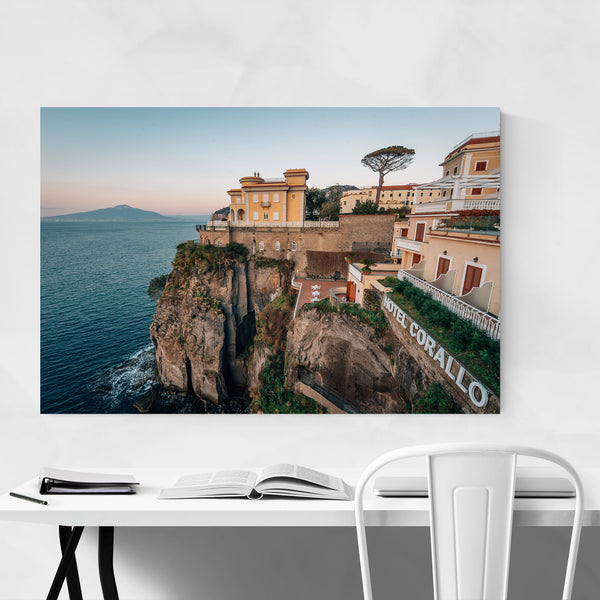 Sorrento Coastal Italy Photo Art Print
