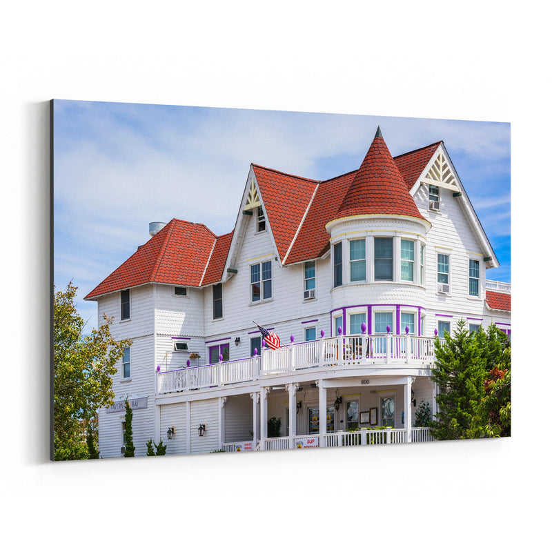 Somers Point, New Jersey House Canvas Art Print