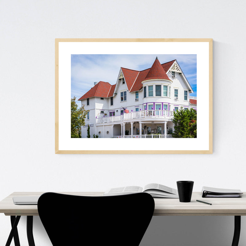 Somers Point, New Jersey House Framed Art Print