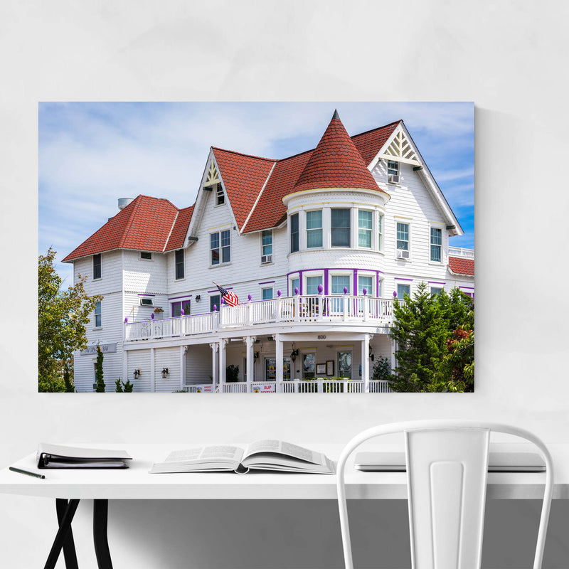 Somers Point, New Jersey House Art Print