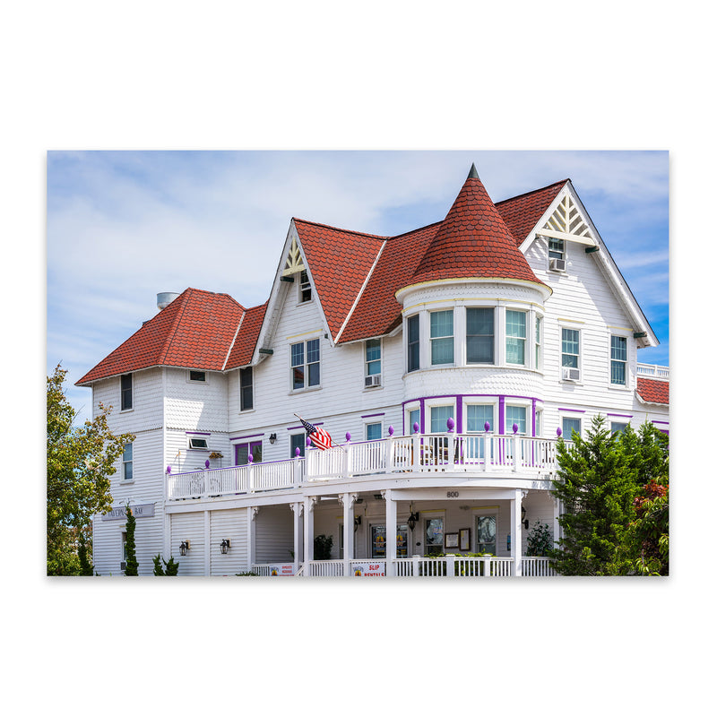 Somers Point, New Jersey House Metal Art Print