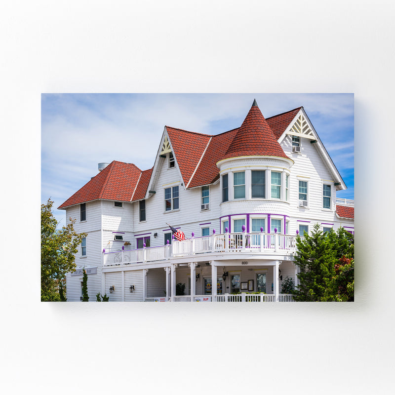 Somers Point, New Jersey House Mounted Art Print