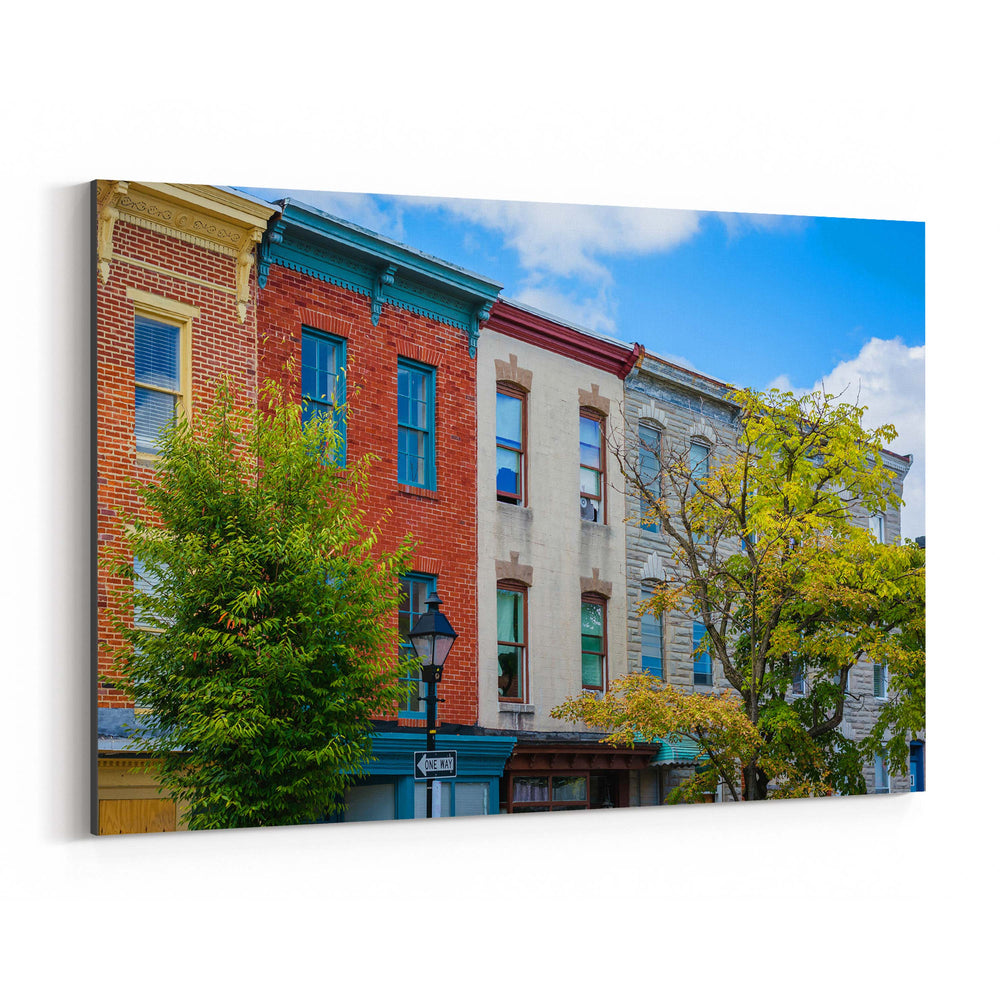 Hollins Market Baltimore MD Canvas Art Print