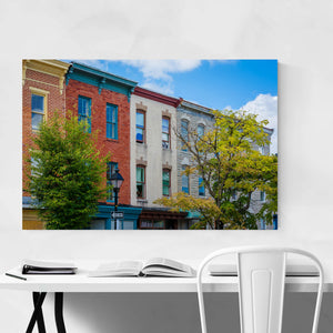 Hollins Market Baltimore MD Art Print
