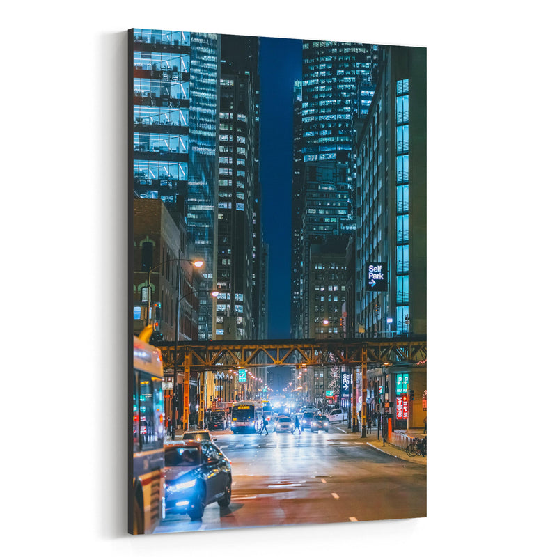 Chicago Illinois Photography Canvas Art Print