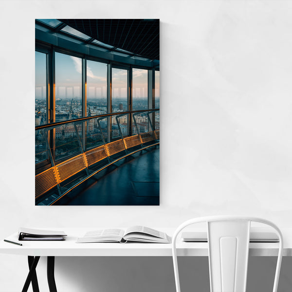 Madrid Spain Faro de Moncloa Art Print