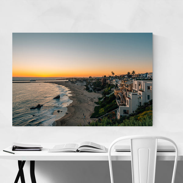 Corona del Mar California Beach Art Print