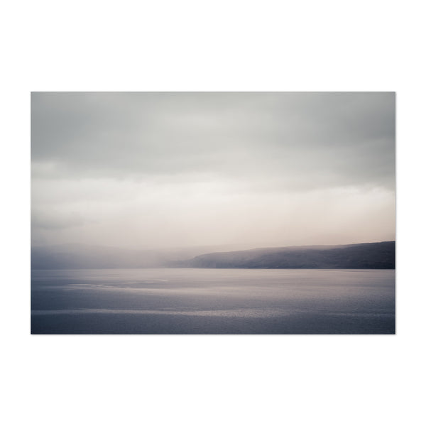 Moody Fog Scotland Photography Art Print