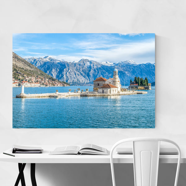 Perast Montenegro Nature Photo Art Print