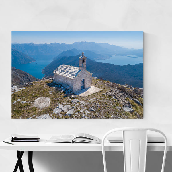 Mountain Church Montenegro Photo Art Print