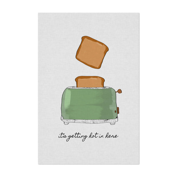Kitchen Toast Cooking Breakfast Art Print