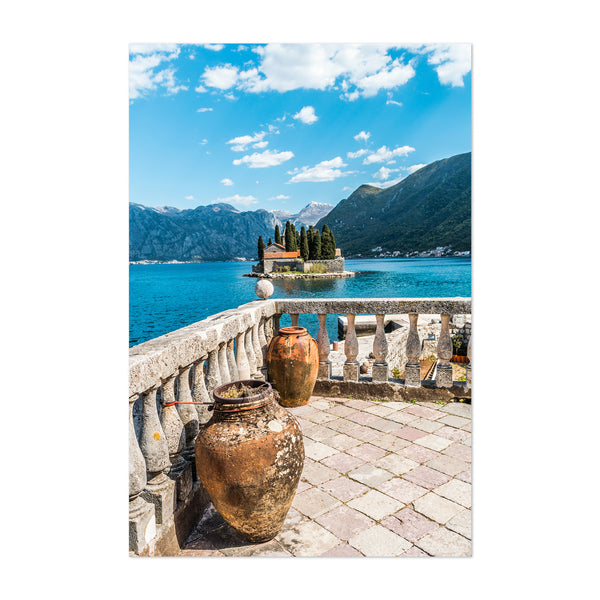 Perast Montenegro Lady of Rocks Art Print