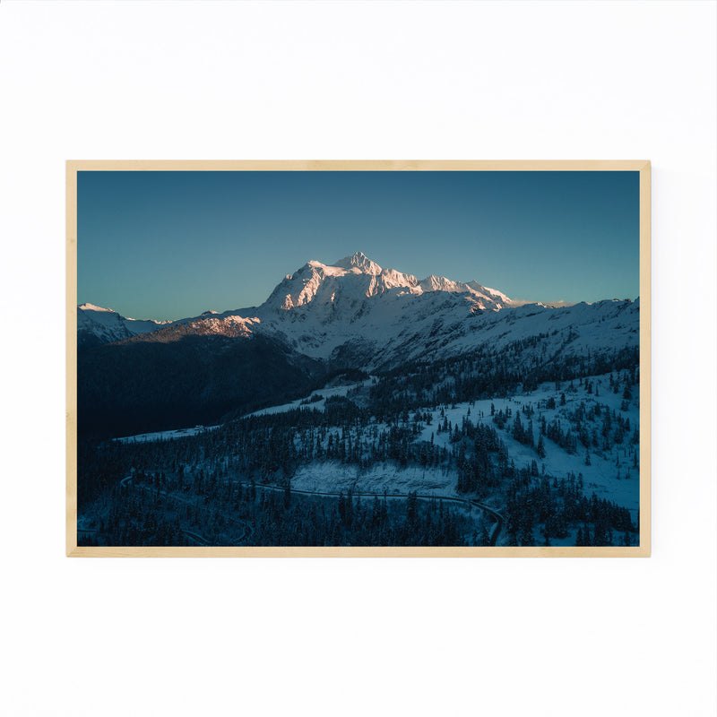 Mt. Shuksan Washington Nature Framed Art Print