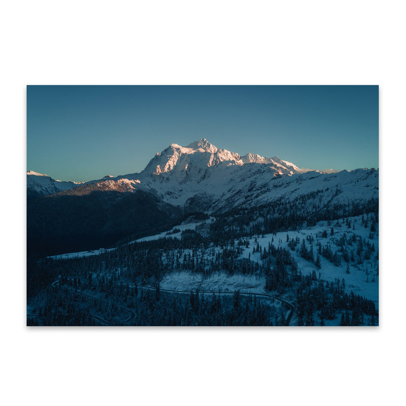 Mt. Shuksan Washington Nature Metal Art Print