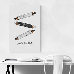 Baking Kitchen Cooking Simple Art Print