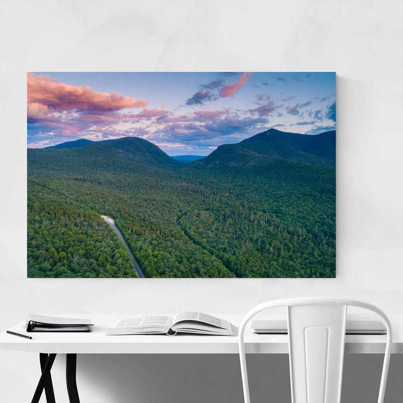 White Mountains New Hampshire Metal Art Print