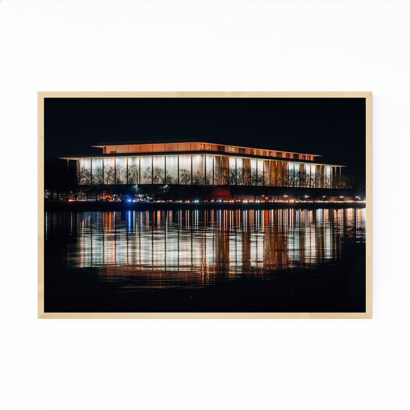 Kennedy Center Washington DC Framed Art Print