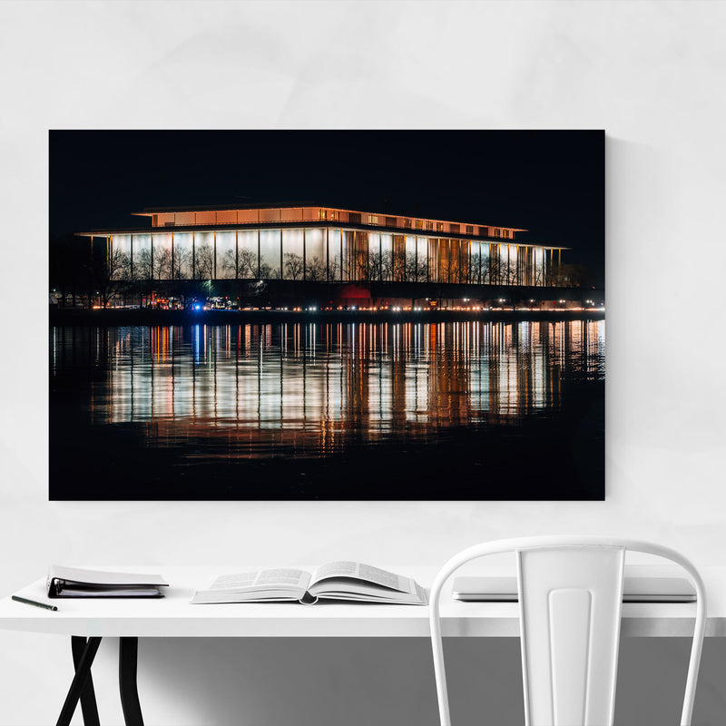 Kennedy Center Washington DC Canvas Art Print