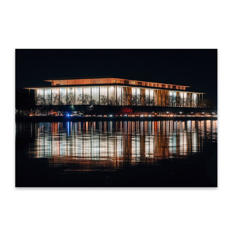 Kennedy Center Washington DC Metal Art Print