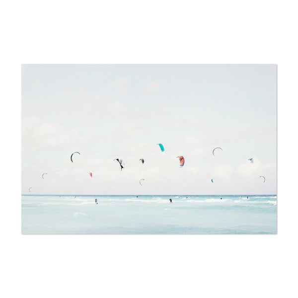 Kite Surfing Miami Beach Photo Art Print