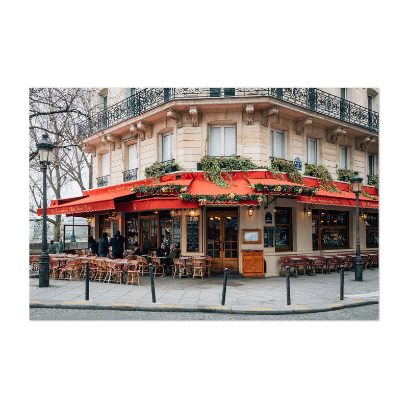 Brasserie Cafe Paris France  Art Print