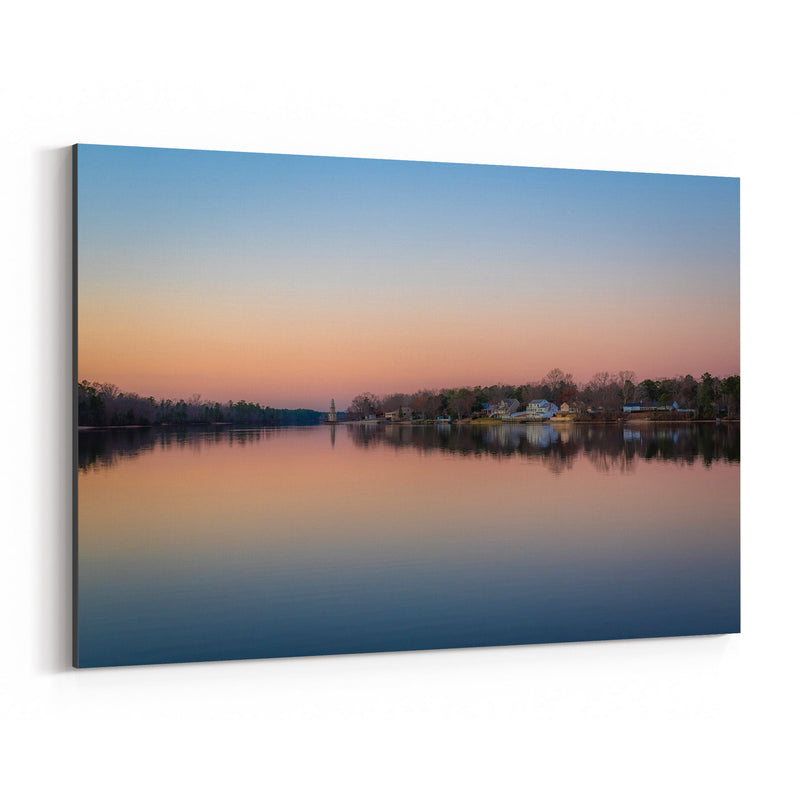 Mays Landing, New Jersey Lake Canvas Art Print