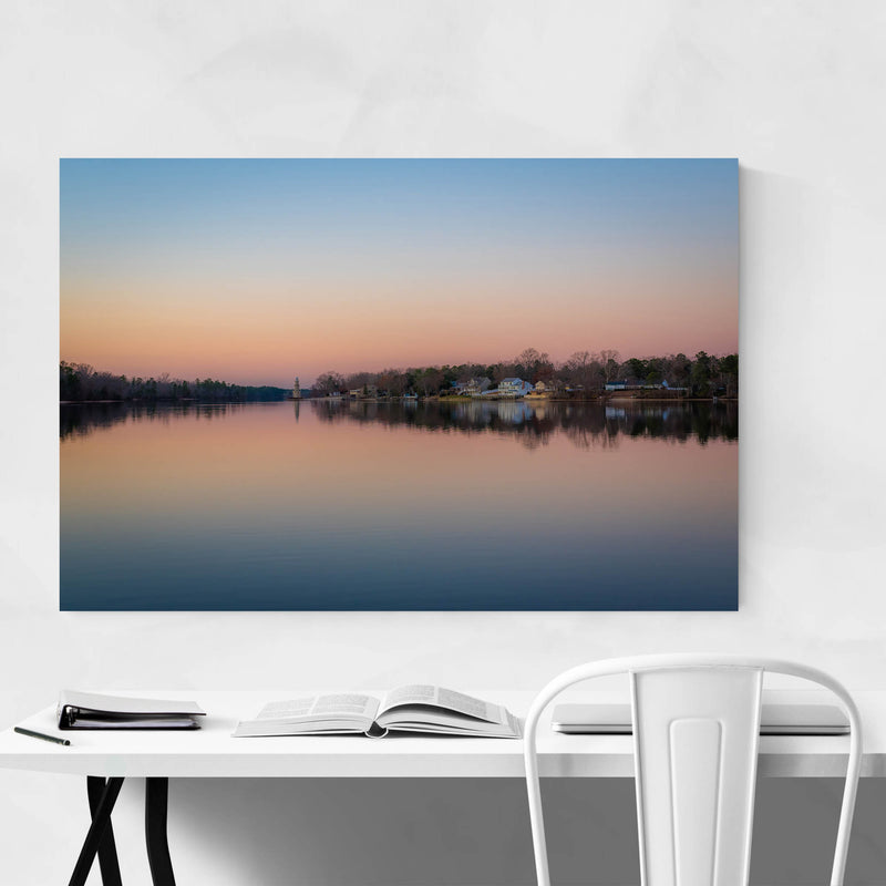 Mays Landing, New Jersey Lake Art Print