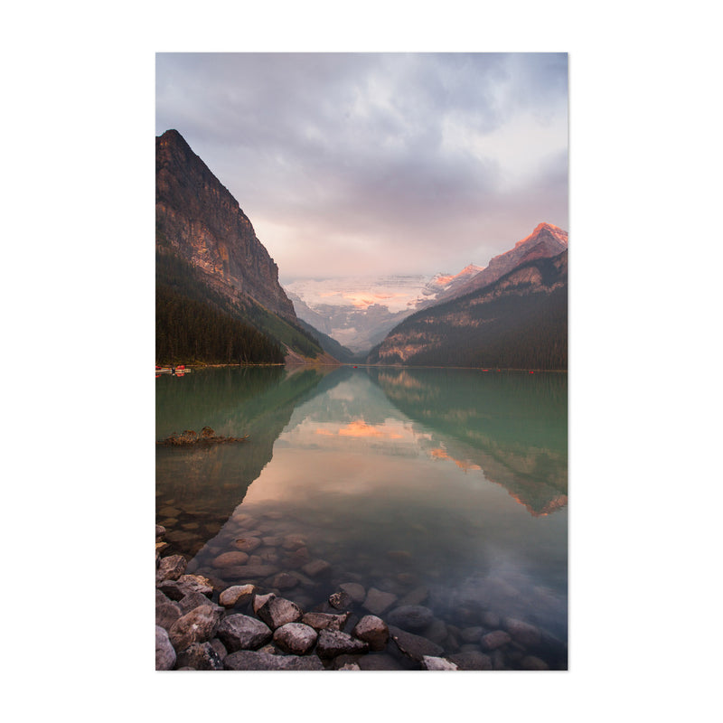Lake Louise Banff Park Alberta Art Print