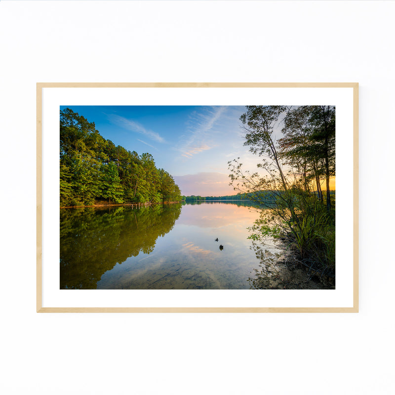 Lake Norman, North Carolina Framed Art Print