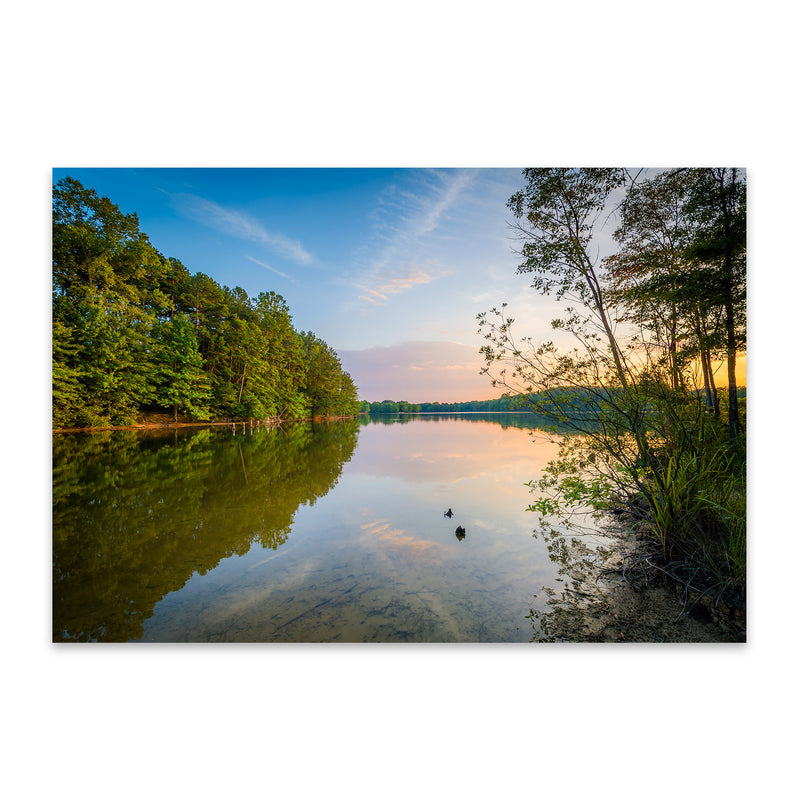 Lake Norman, North Carolina Metal Art Print