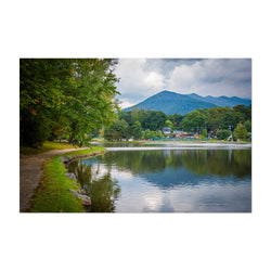 Lake Tomahawk North Carolina Art Print