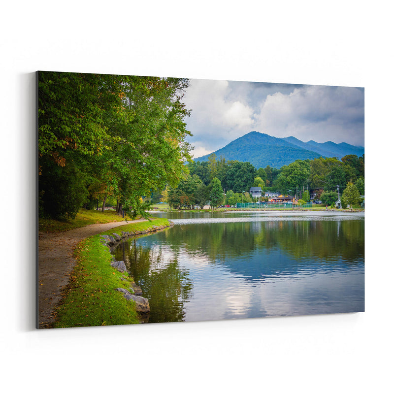Lake Tomahawk North Carolina Canvas Art Print