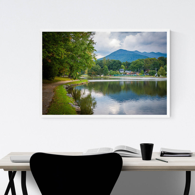 Lake Tomahawk North Carolina Framed Art Print