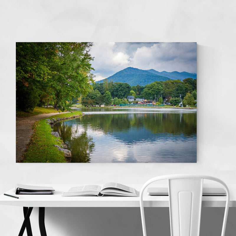 Lake Tomahawk North Carolina Metal Art Print