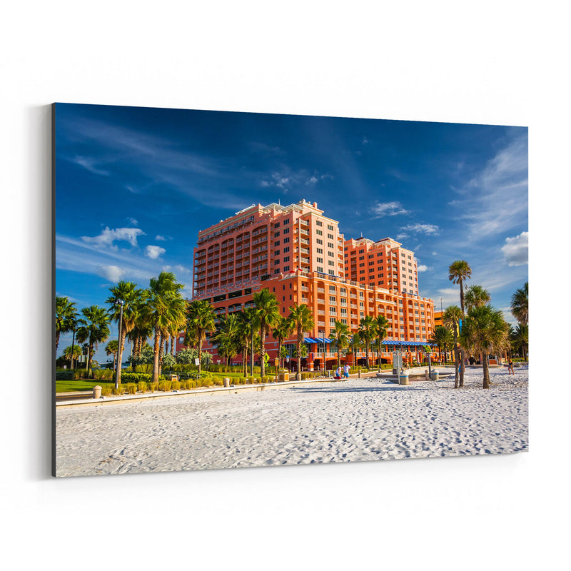 Clearwater Beach, Florida Canvas Art Print