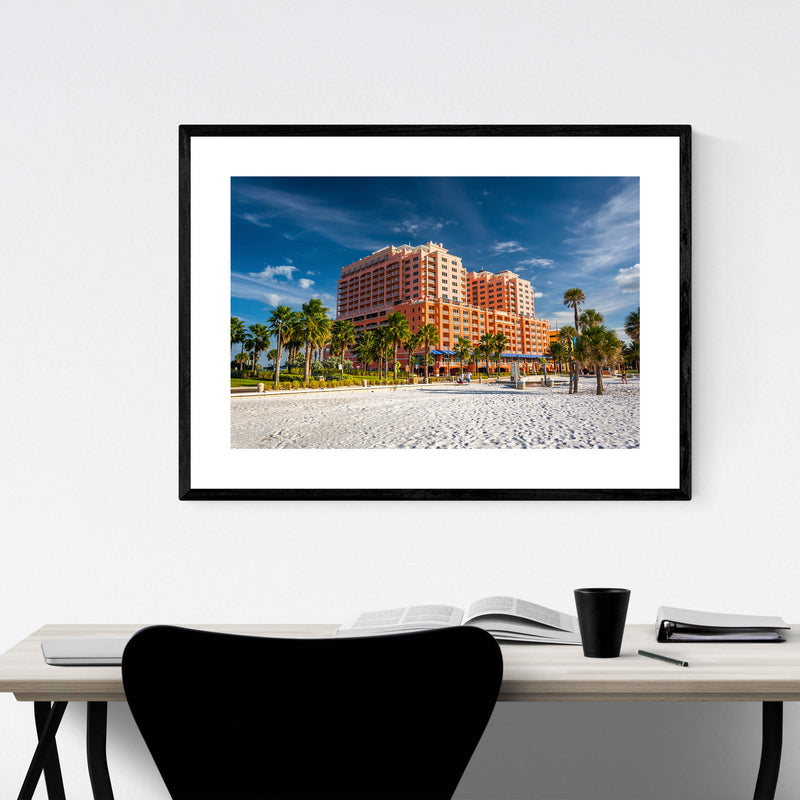 Clearwater Beach, Florida Framed Art Print
