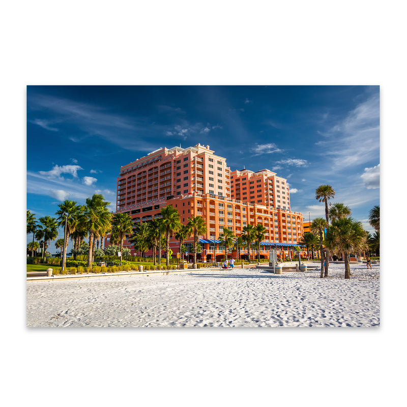 Clearwater Beach, Florida Metal Art Print