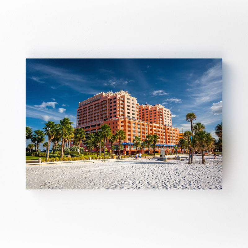 Clearwater Beach, Florida Mounted Art Print