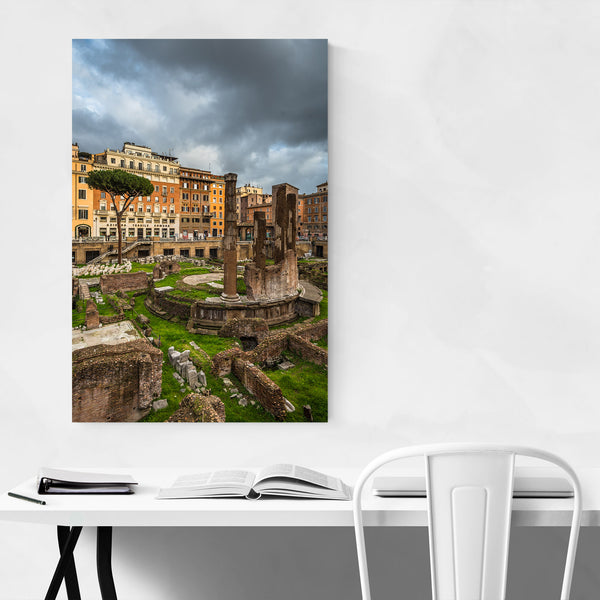 Rome Italy Archaeological Ruins  Art Print