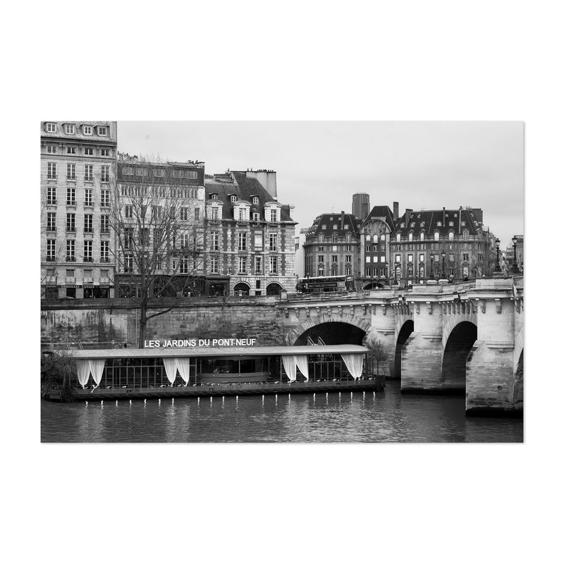Seine Pont Neuf Paris France Art Print