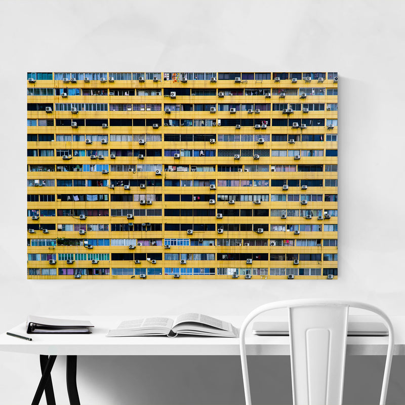 Singapore Architecture Photo Canvas Art Print