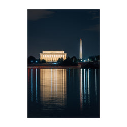 Washington DC Lincoln Memorial Art Print