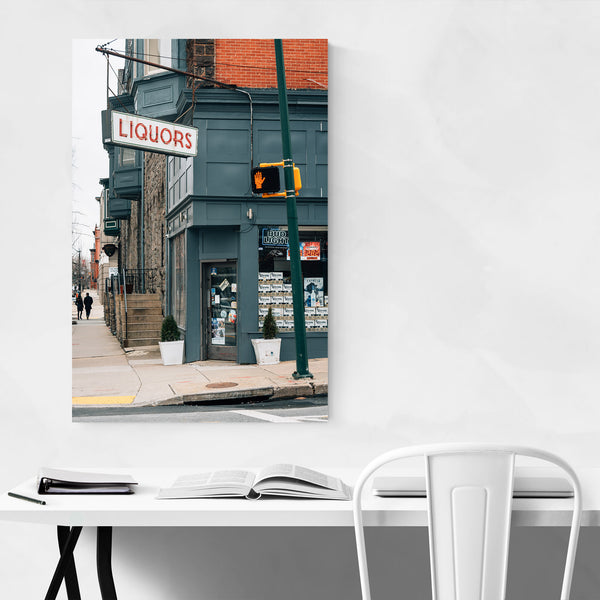 Liquor Store Sign Baltimore MD Art Print