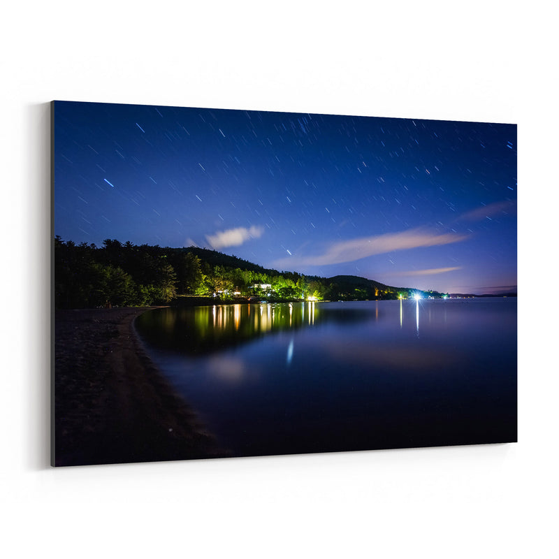 New Hampshire Lake Winnipesaukee Canvas Art Print
