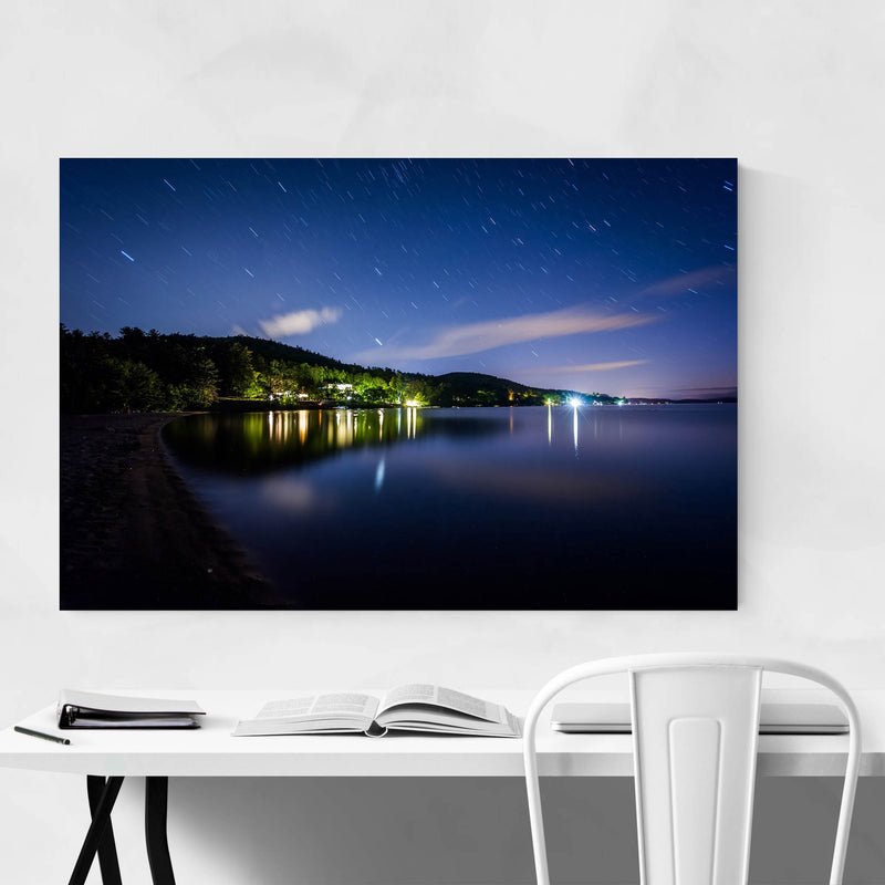 New Hampshire Lake Winnipesaukee Metal Art Print