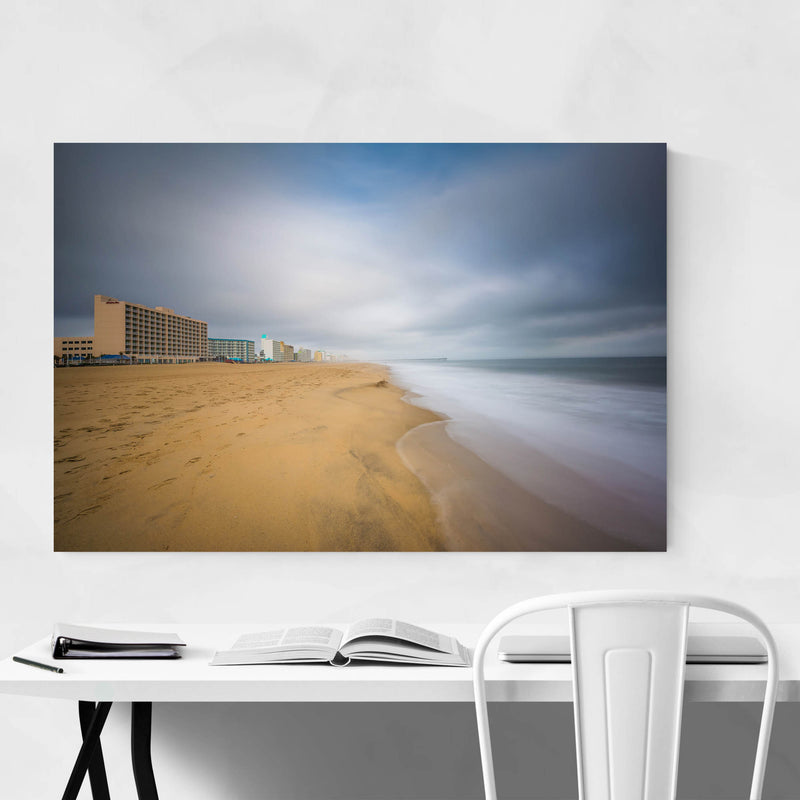 Coastal Virginia Beach Ocean Art Print