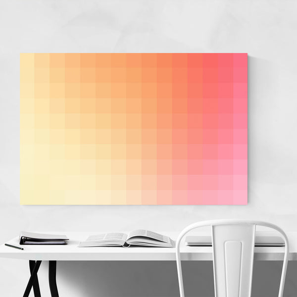 Minimalist Abstract Modern 8-Bit Art Print